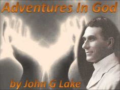 John Graham Lake (March 18, 1870 – September 16, 1935), usually known as John G. Lake, was a businessman who became known for his ministry as a missionary, faith healer, and founder of the Apostolic Faith Mission of South Africa. He was influenced by the healing ministry of John Alexander Dowie, and he received the baptism of the Holy Spirit in 1907 in the wake of the Azusa Street Revival.  http://www.youtube.com/watch?v=glmSMXr1mTI