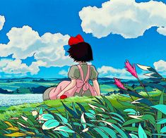 Gentle Witchcraft - Just a collection of witchy things that give off a gentle, loving energy without being focused on self love or romantic love specifically Studio Ghibli Art, Studio Ghibli Movies, Anime Gifs, Anime Art, Personajes Studio Ghibli, Arte Punk, Estilo Anime, Hayao Miyazaki, Aesthetic Gif