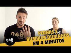 Bumbum em pé e coxas durinhas com 4 minutos de exercício por dia: vídeo ensina - Bolsa de Mulher