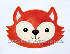 Fox Head Applique