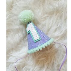 Mini Glittery #Birthday Girl Party Hat First ##Birthday, #baby, ##Birthday, cake sma, View more on the LINK: http://www.zeppy.io/product/gb/3/269499605/
