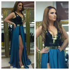 dress :Dona Matoshi