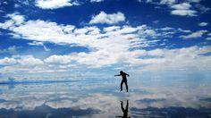 Bolivia - Salar de Uyuni ... To dance in the clouds!
