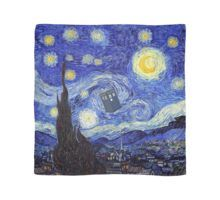 Starry Night Inspired Gogh Doctor Travel Canvas - decor diy cyo customize home