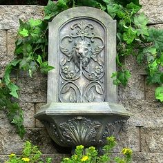 http://ak1.ostkcdn.com//images/products/is/images/direct/6a3da43d083ce5f088f339c80f2cf0bfb183f3d9/Sunnydaze-Decorative-Lion-Solar-Wall-Fountain.jpg
