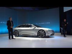 Charged EVs     Lucid Motors unveils Lucid Air luxury sedan