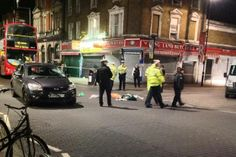 Woman seriously injured after being hit by unmarked police car in east London