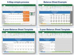 simple business balance sheet