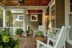 I would love to have a big front porch