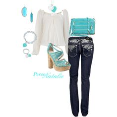 Tiffany Jewelry, created by natalie-buscemi-hindman on Polyvore