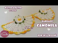 PAP Barrado Camomila - JNY Crochê - YouTube