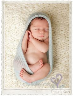 newborn boy photo...simple and so cute!