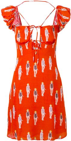 Dondup lady print dress