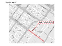 "Street Closures for ""Need For Speed"" filming on Thursday, May 2, 2013. #Macon"