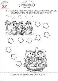 Výsledek obrázku pro atividades para trabalhar os reis magos na pré-escolar