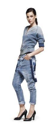 #G_star Denzel sweat vest (€119)  & Hank kick loose tapered #jeans €349
