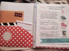 Thirty-One Hostess Packet, from Melissa Fietsam's website