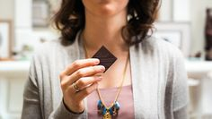 Tasting Zen: A Chocolate Mindfulness Exercise via Lindt Excellence – where chocolate lovers get inspired with recipes, DIY crafts and tips. Mindfulness Exercises, Chocolate Lovers, Turquoise Necklace, Diy Crafts, Drop Earrings, Single Piece, Zen, Coaching, Wellness