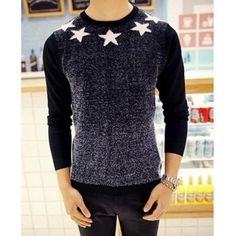 Type: Pullovers  Material: Polyester, Cotton  Sleeve Length: Full  Collar: Round Neck  Style: Casual  Weight: 1KG  Package Contents: 1 x Sweater