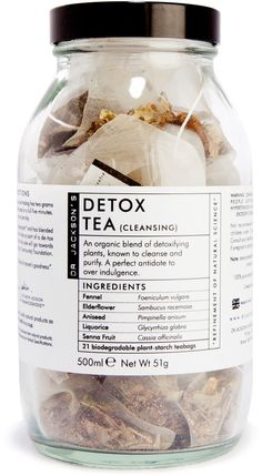 Jackson's Herbal Tea Detox – Detox tea Superfood, Herbal Tea Benefits, Herbal Teas, Foeniculum Vulgare, Herbal Detox, Tea Design, Tea Packaging, Print Packaging, Packaging Design