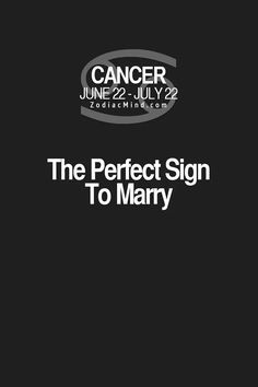 #teamcancer -- lol, I'm a Cancer (actually a cusp sign Cancer/Leo), but I'd marry a Cancer...& I think could be fun to marry