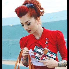 Cherry Dollface | Catfightcollections #cherrydollface #redhair #pinupmakeup