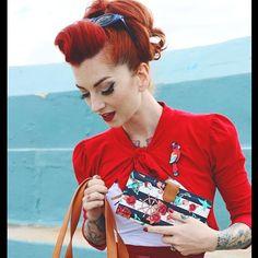Cherry Dollface   Catfightcollections #cherrydollface #redhair #pinupmakeup