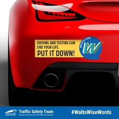 Driving and Texting can end your life. Your Turn, Wise Words, Safety, Community, Texting, Life, Security Guard, Text Messages