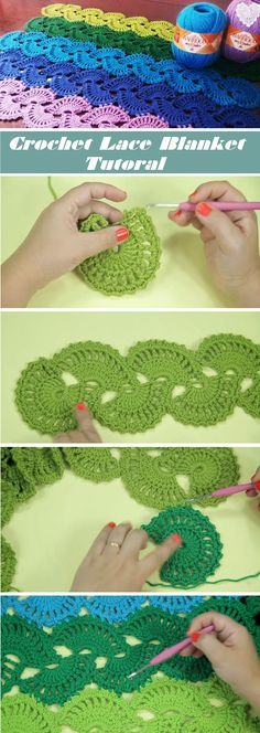 You may have learned how to crochet a lace and now wondering how to make a blanket out of it. On the other hand you may don't know how to crochet a chord and you want to learn it first. The tutorial that we are sharing with you today gives both explanations in a precise… Read More Crochet Lace Blanket – Tutorial