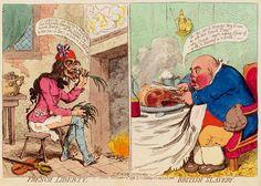 A James Gillray Political Cartoon - 1792.