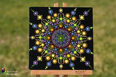 Colourful Mandala Dot Painting