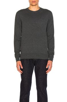 MAISON MARTIN MARGIELA Elbow Patch Pullover Sweater. #maisonmartinmargiela #cloth #