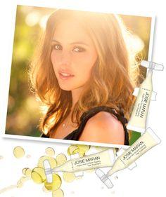 josie maran argan oil hair treatment - want!