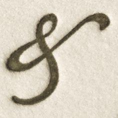 Bickham Script Ampersand