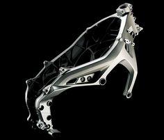MT09 frame of aluminium die casting アルミダイキャストフレーム