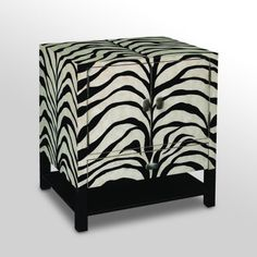 Find it at the Foundary - 24 in. Zebra 1 Drawer 2 Door Cabinet