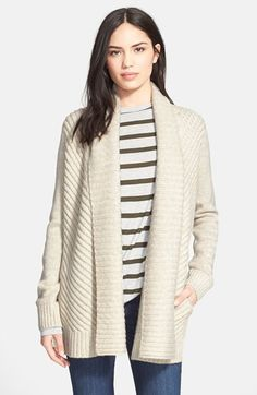 Vince Chevron Shawl Cardigan available at #Nordstrom