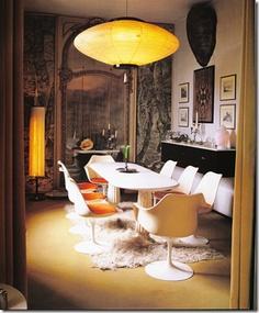 Lovely Mid Century Modern Mix Tulip Table FLAIR SET: DESIGN: CARLO MOLLINO