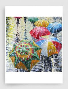 GICLEE Print of Original Oil Painting Canvas Print by sidorovart, $55.00