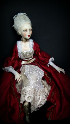 OOAK art doll Lady M by Nashelale