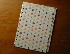 FILOFAX A5 compatible DIVIDERS for A5 Personal ORGANISERS Planners Stars #163