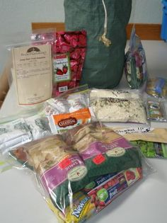 Cooking for backpacking and hiking