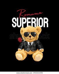 Animal Graphic, Bear Doll, Arte Pop, Planner Template, Family Shirts, Slogan, Illustration, Mickey Mouse, Beach Tennis