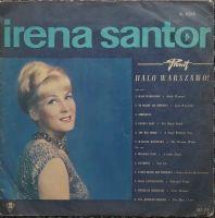Irena Santor – Halo Warszawo!  XL 0268  Pop  Vinyl-Schallplatten