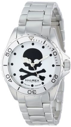 Haurex Italy Ink Womens Quartz Watch #skulls #skullwatch more at http://skullclothing.net