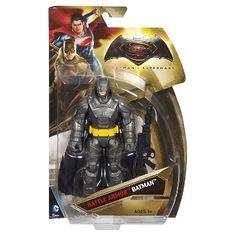 Batman v Superman: Dawn of Justice Battle Armor Batman Figure