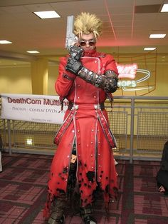 Vash the Stampede. This cosplay made my jaw drop...