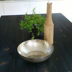 Här är silverskålen @moltazdesign , älskar den :-D #Padgram