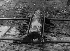 """""""1000 more shots to Moscow"""" - German artillery shell, 1941"""