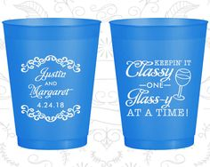 Custom Frosted Cups, Shatterproof Cups, Frost Flex Cups, Frosted Cups, Frosted Plastic Cups, Personalized Frosted Cups (383)